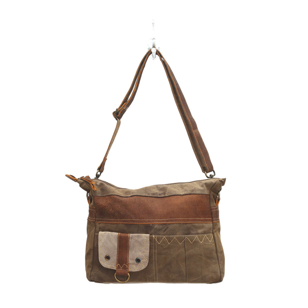 Perfect Recycled Canvas Shoulder Bag