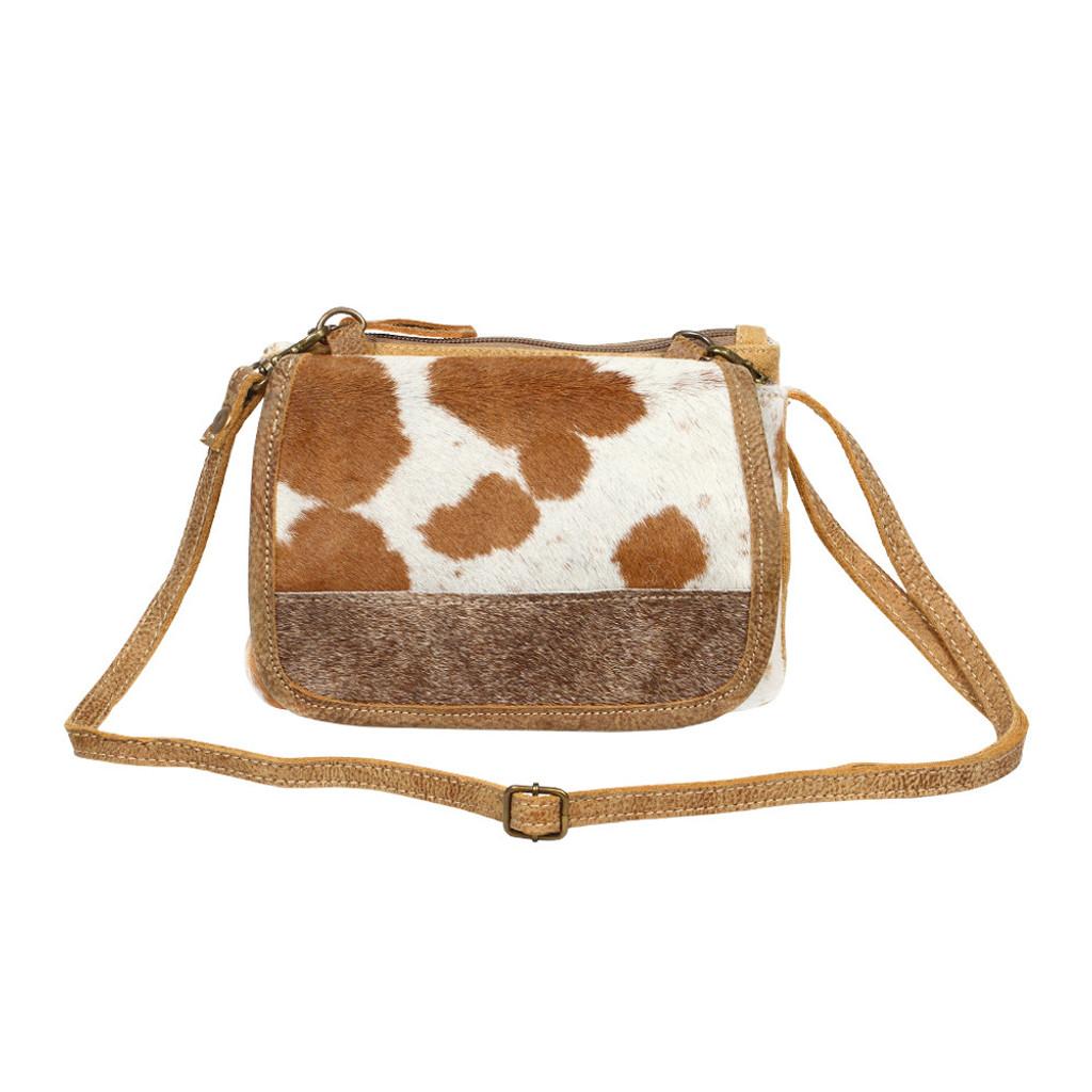 Enticing Hairon Cowhide Shoulder Bag