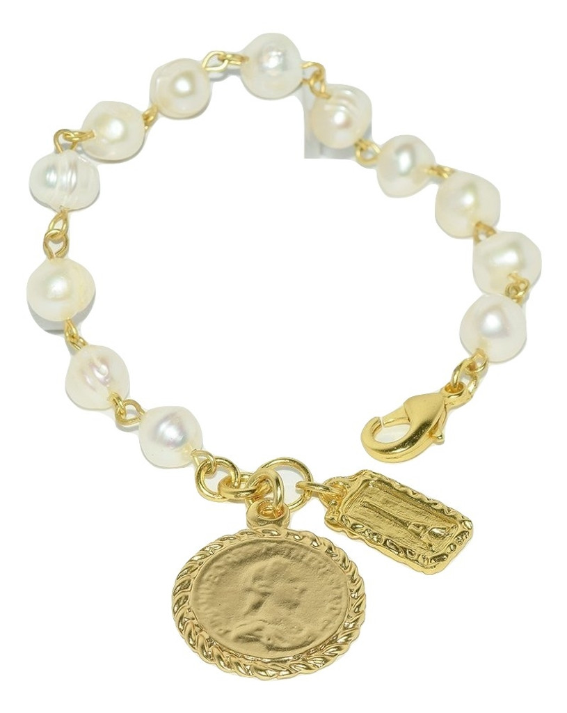 Lima Gold Charm Bracelet