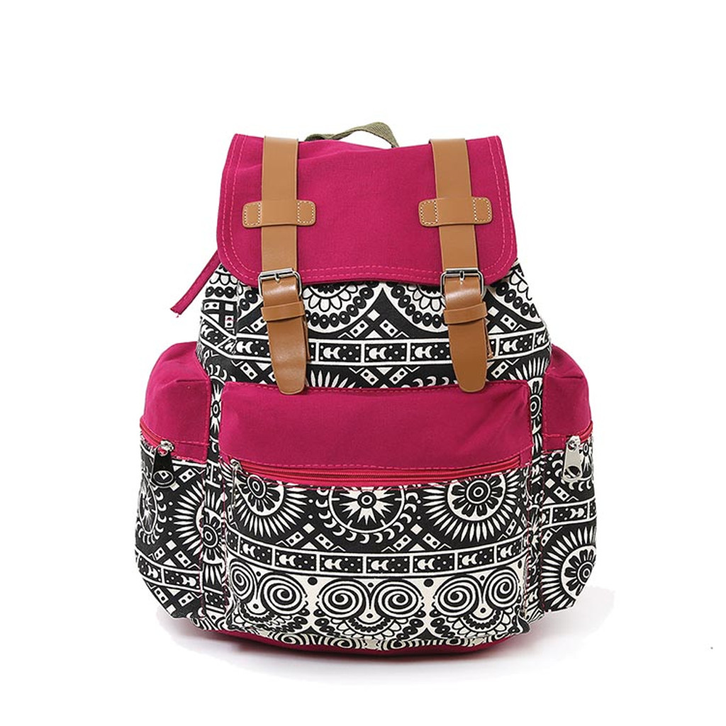 Black & White Gothic Backpack
