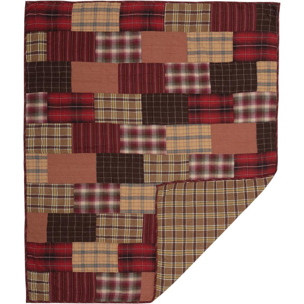 Wyatt Lodge Quilted Throw Blanket
