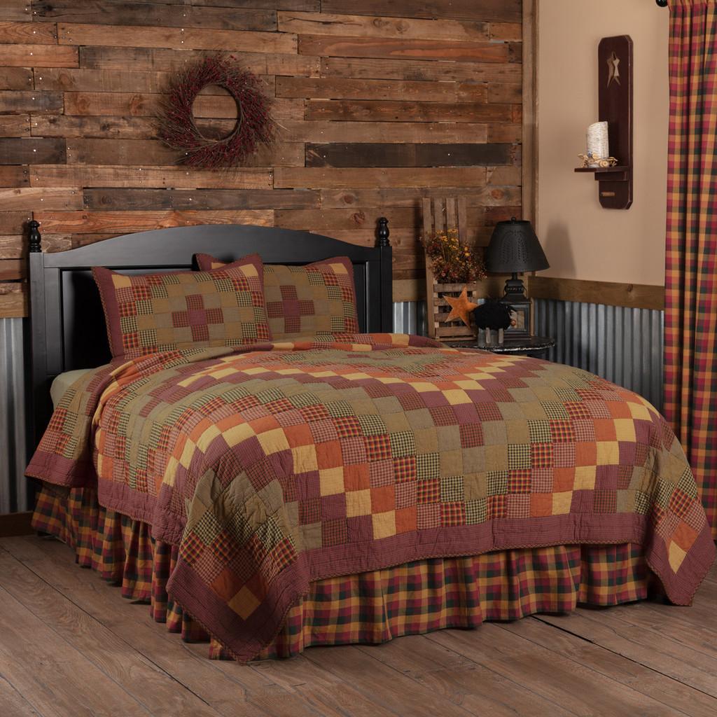 Heritage Farms 3 Pc Quilt Set