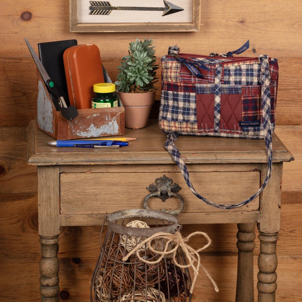 National Quilt Museum Finley Essentials Crossbody Bag