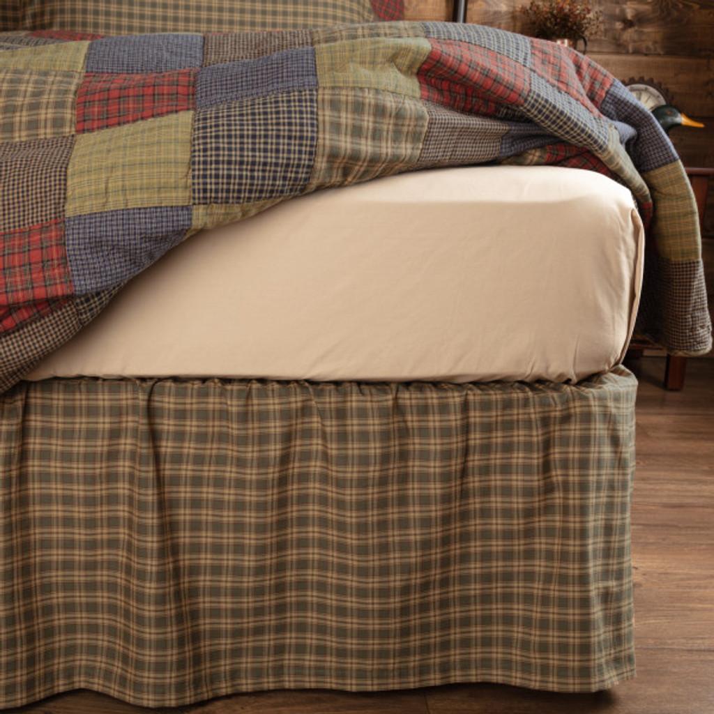 Cedar Ridge Bed Skirt in Queen or King Size