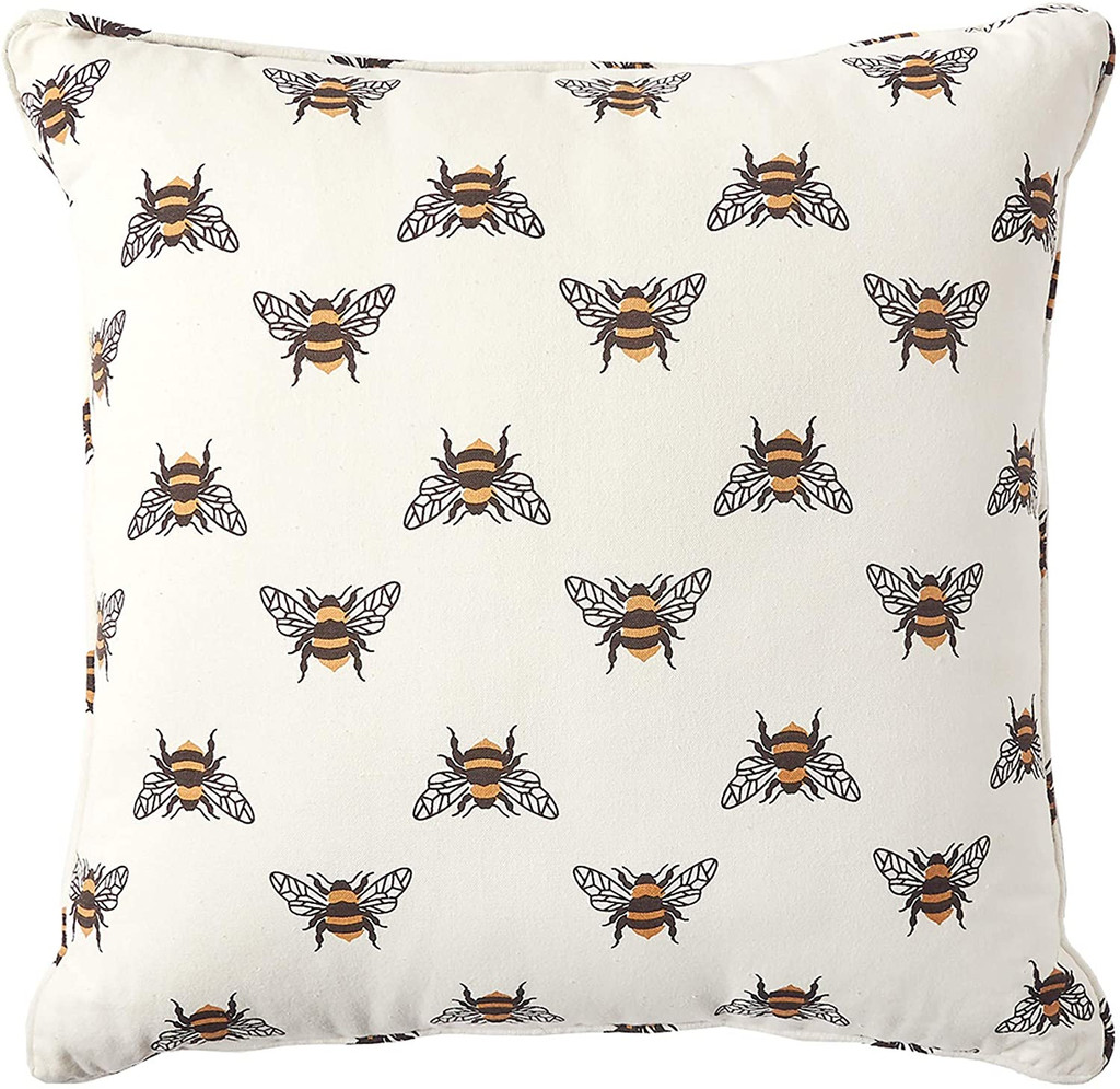 Bumble Bee Toss Pillow
