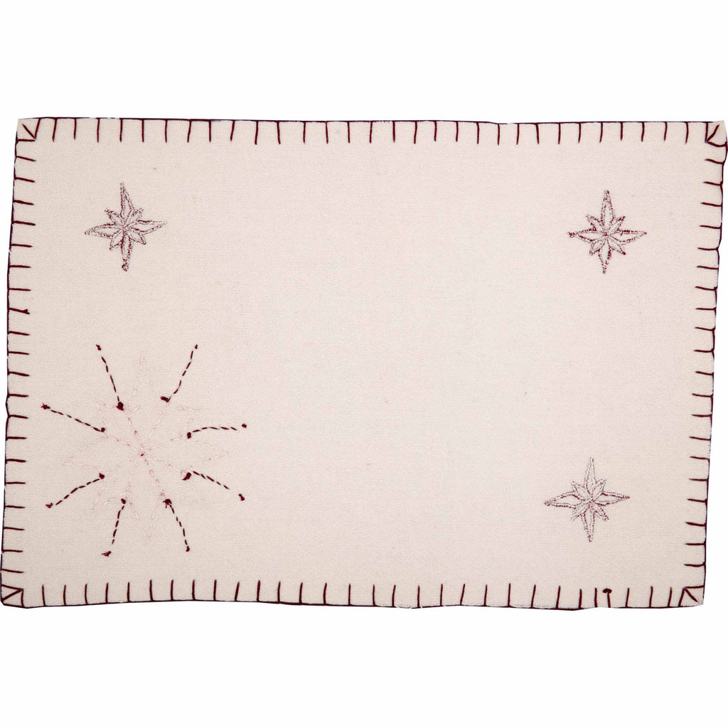North Star Placemat Set of Six Reverse