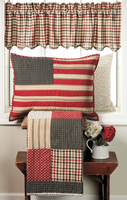 Victory Quilt Set with Valance