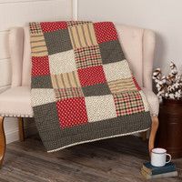 Victory Quilted Patchwork Throw