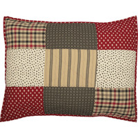 Patchwork Pillow Sham
