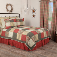 Victory 3 Pc Quilt Set with Pillowcases & Euro Shams