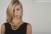 Lucie Matte Gold Necklace
