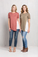 Peeka Boo Blush Top