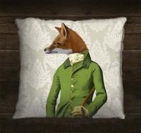 Fox in Green Jacket Pillow Sham