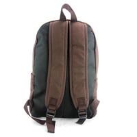 Baby Sloth Brown Canvas Backpack Reversed