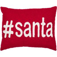 #Santa Toss Pillow