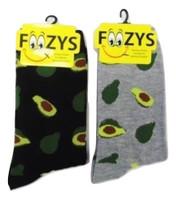 Avocado Crew Socks - Two Pairs