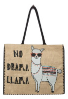 NO DRAMA LLAMA Market Bag