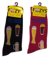 Pilsner Beer Socks for Men - Two Pairs