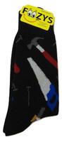 FOOZYS Handyman Tool Men's Socks - Two Pairs