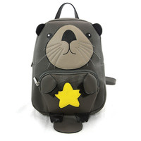 Mini Otter Vinyl Backpack