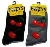 Cherries Socks for Ladies