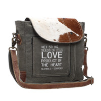 Seeds of Love Cowhide Bag