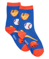 Baseball Kids Socks - Two Pairs