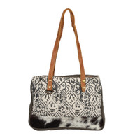 Spencer Rug & Cowhide Bag
