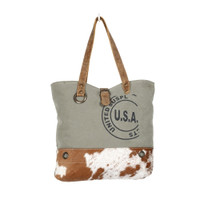 USA Stamp Canvas Tote Bag
