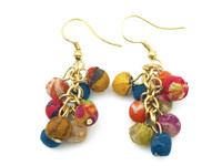 Rassi Recycled Sari Earrings