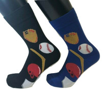 FOOZYS Men's Baseball Socks - Two Pairs
