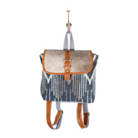 Sapphire Recycled Backpack Bag