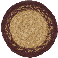 Potomac Jute Coaster Stencil Star Set of 6