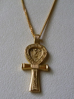 Ancient Ankh Symbol with Chain