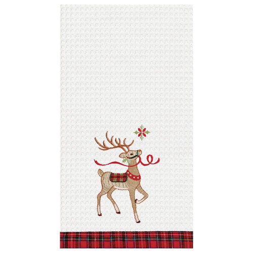 Reindeer Wonderland Kitchen Towel