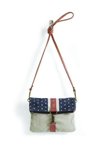 Cadet Fold-over Shoulder Bag