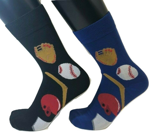 FOOZYS Men's Baseball Socks - Two Pairs