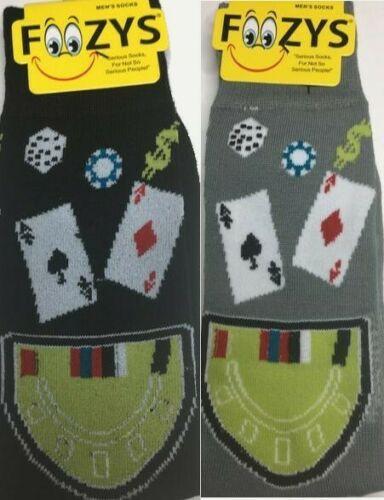 Blackjack Poker Socks for Him-Two Pairs