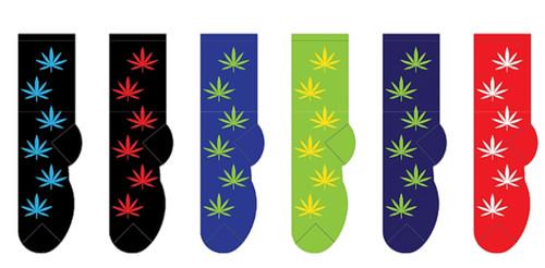Women's Cannabis Socks