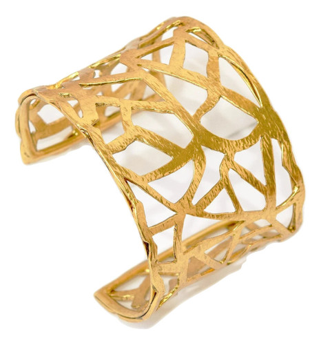 Free Form Cut-out Cuff Bracelet