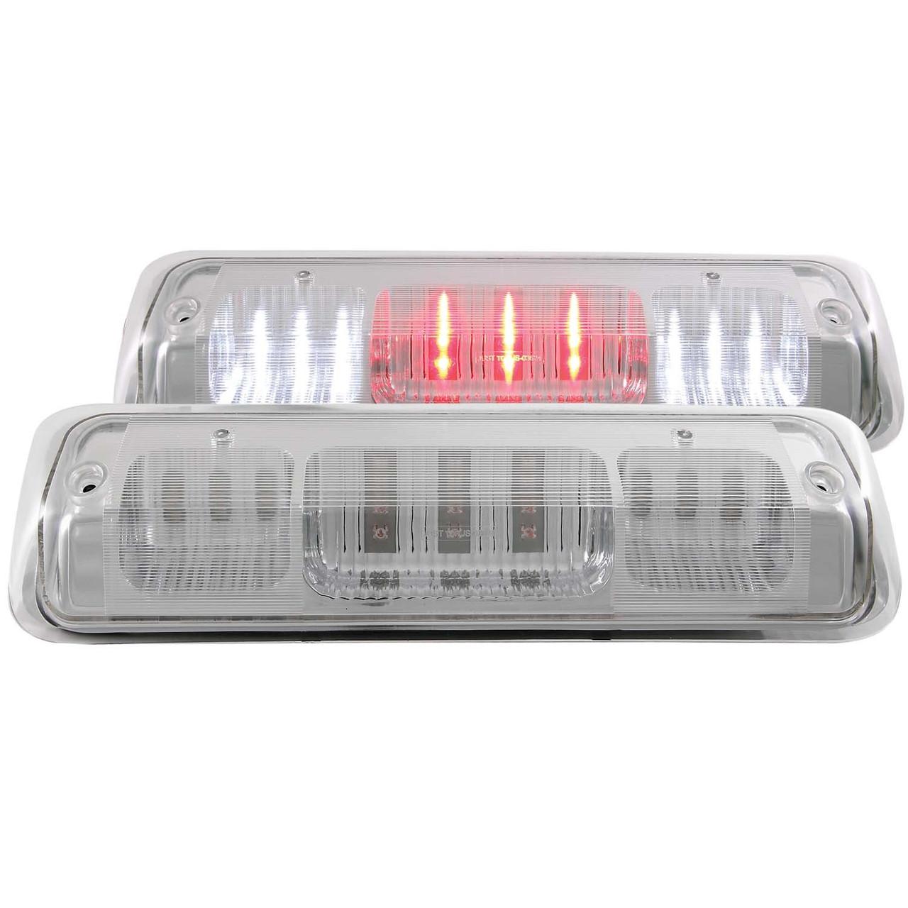 03-17 DODGE RAM 2500//3500 ANZO SMOKED LED CAB LIGHTS.
