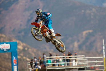 Bogle Caps off Season with 8th Overall at Pala MX National | SoCal SuperTrucks Supported Team Rocky Mountain ATV/MC Race Report
