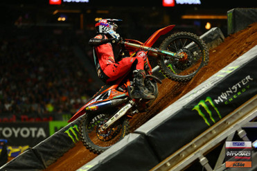 Tough Night for Baggett at Atlanta SX | SoCal SuperTrucks Supported Team Rocky MountainATV/MC Race Report