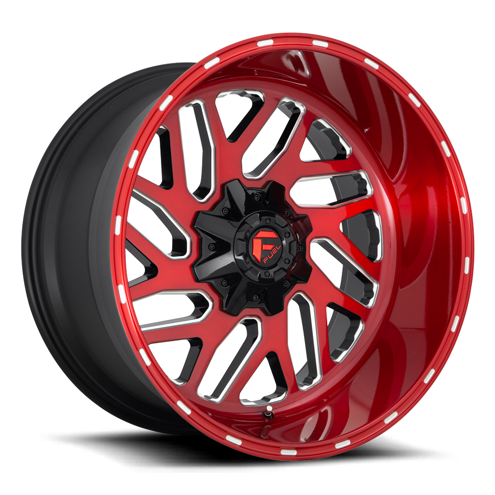 D691 - TRITON Gloss Black W/Red