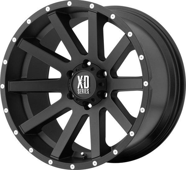XD818 - HEIST Satin Black