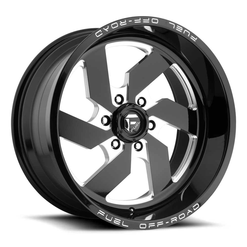 D582 - TURBO Gloss Black & Milled