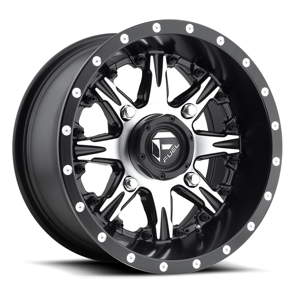 D541 - NUTZ UTV Black & Machined