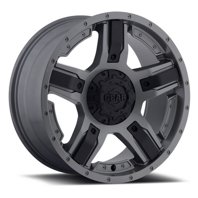 740 - Manifold Gunmetal w/ Black Spoke Inserts
