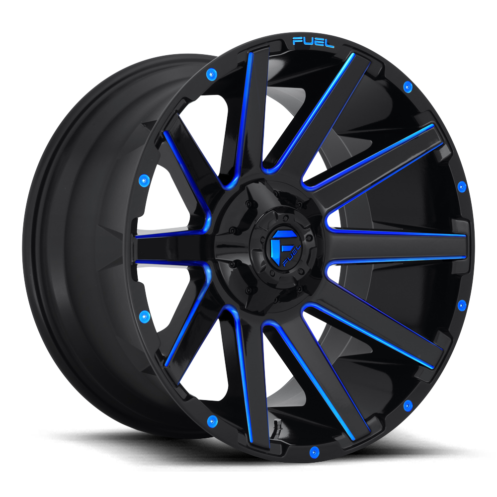 D644 - CONTRA Gloss Black W/Blue