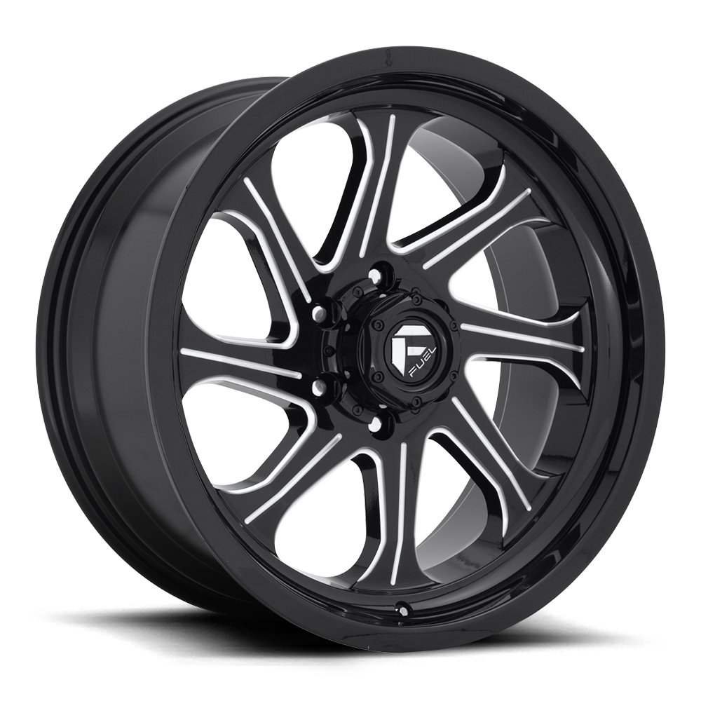 D676 - SEEKER Gloss Black & Milled